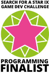 Search for a Star IX Programming Finalist Badge